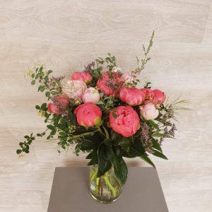 bouquet de fleurs de pivoine