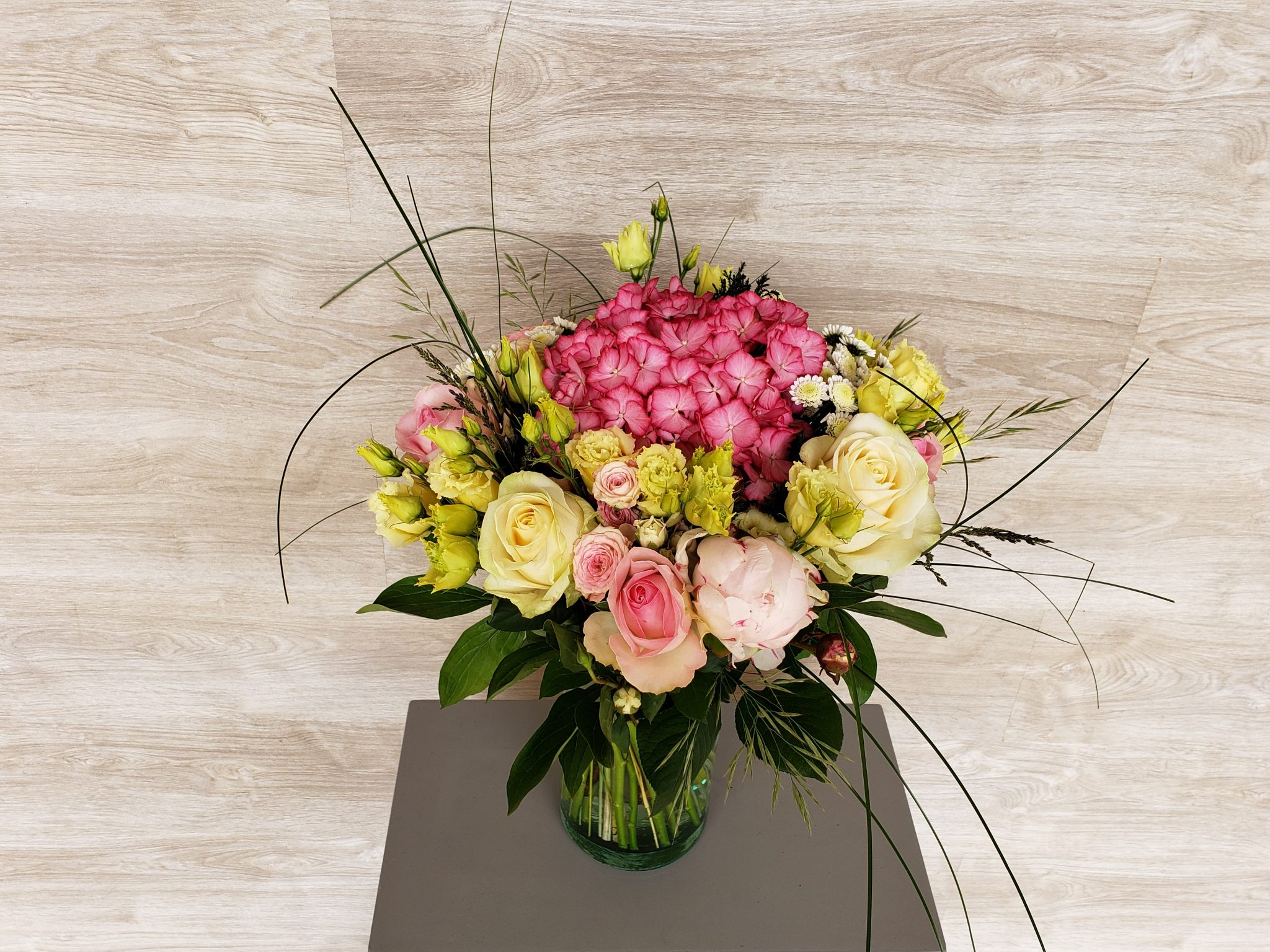 Bouquet de pivoine