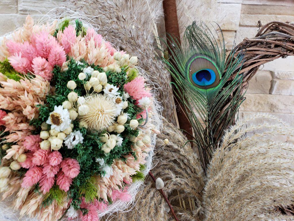 Les réalisations en fleurs séchées de Marie Danède