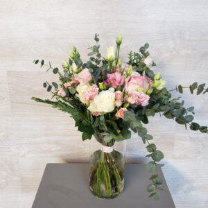 Bouquet champêtre rose Marie Danède 1