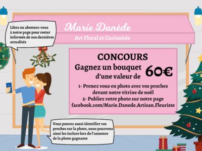 Concours_Vitrine de noël Marie Danède